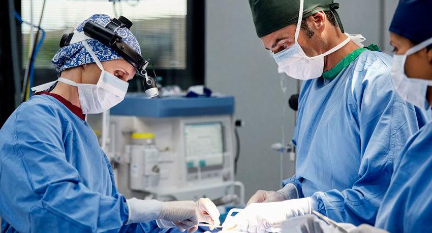 Проведение хирургическое операции при аденокарциноме легкого