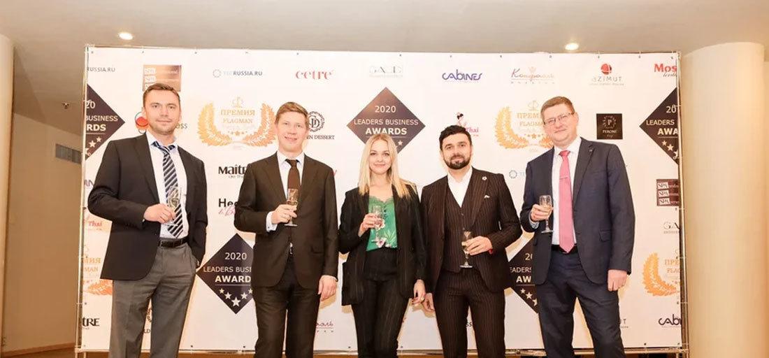 Клиника «Медицина 24/7» и главный врач О.Ю.Серебрянский награждены премиями клуба «Flagman»