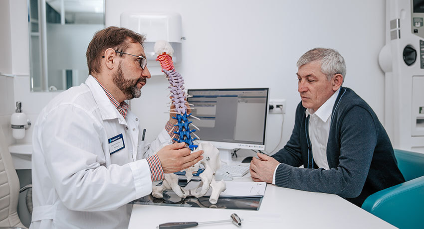 Приём врача нейрохирурга